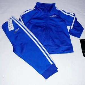 Adidas Boys Infant 2pc Warmer Track Suit Set